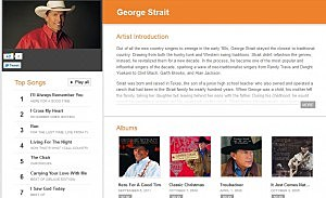 George's Google Music Page
