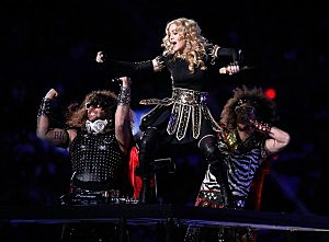 Madge throws down