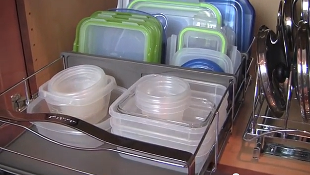 Organize Your Plastic Storage Containers Video