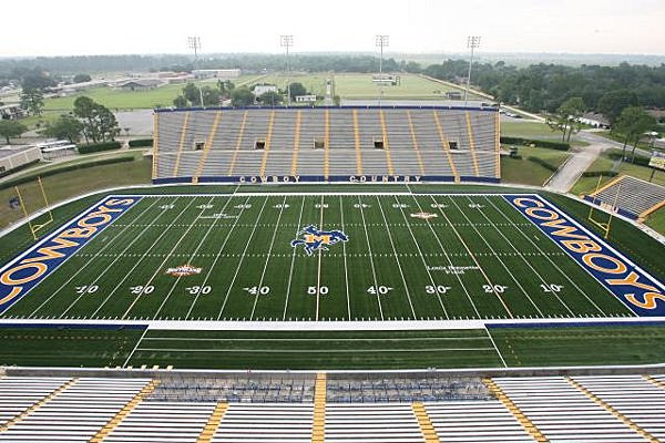 McNeese Football Stadium (Photo provided by Matt Bonnette MSU)