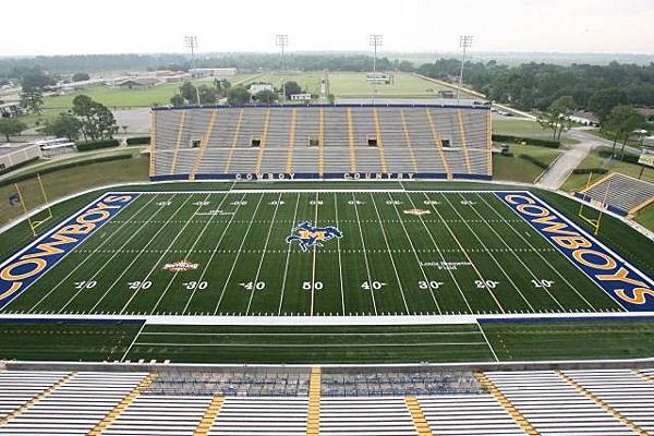 McNeese Football Stadium (Photo provided by Matt Bonnette MSU)