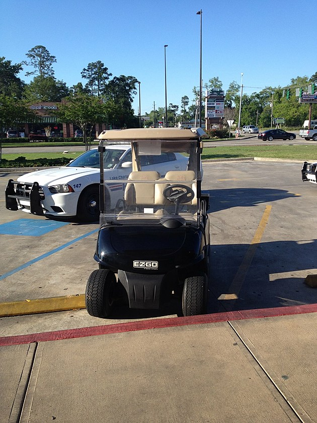 Golf Cart (Photo provided by D Griffin)