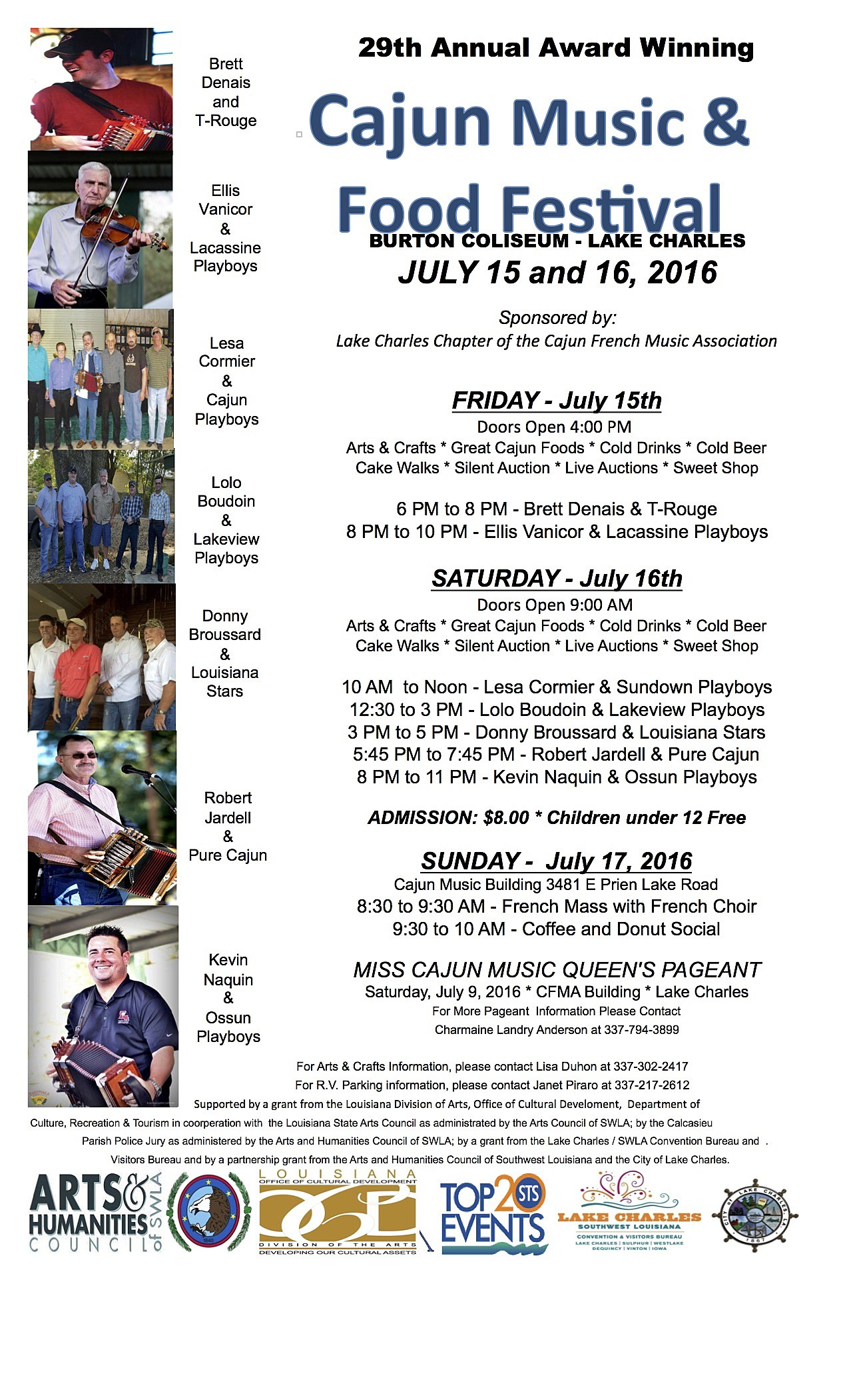 Cajun Food and Music Festival (Provided By Renee Daigle)