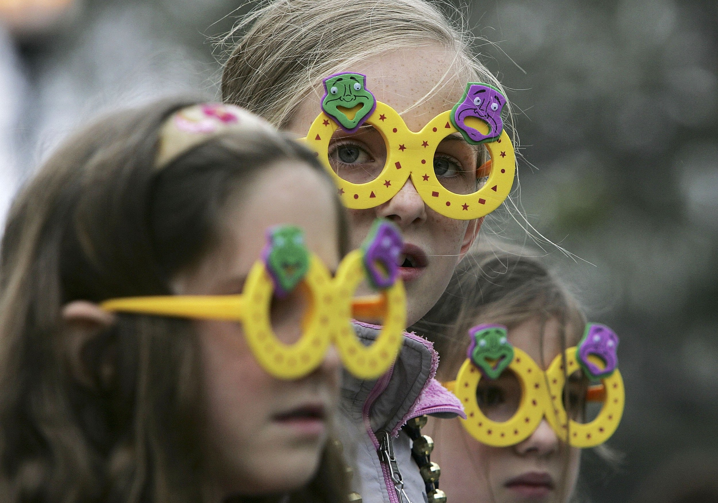 Kids at Mardi Gras (Getty Images)