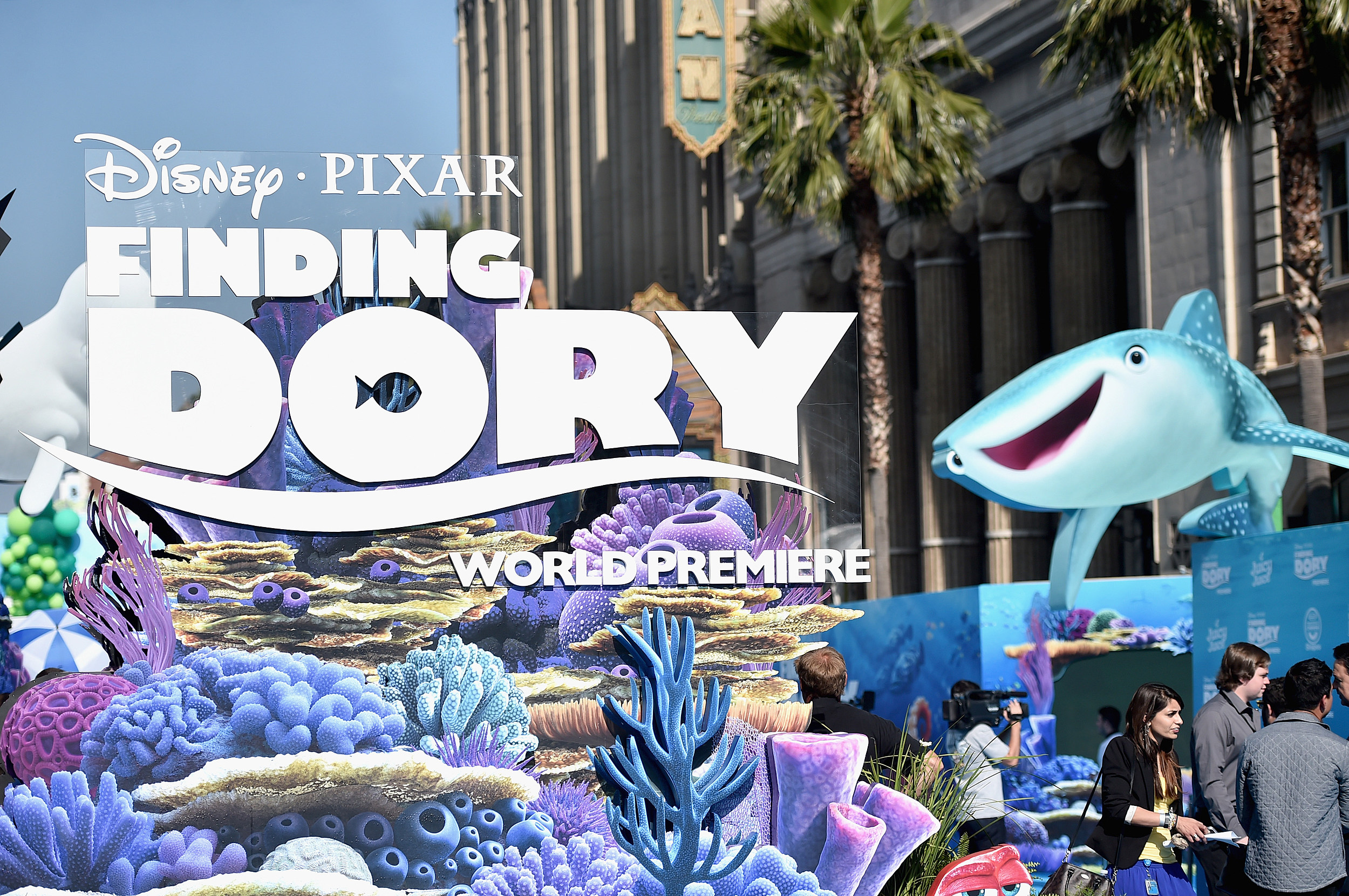 """Disney-Pixar's """"Finding Dory"""" (Getty Images for Disney)"""