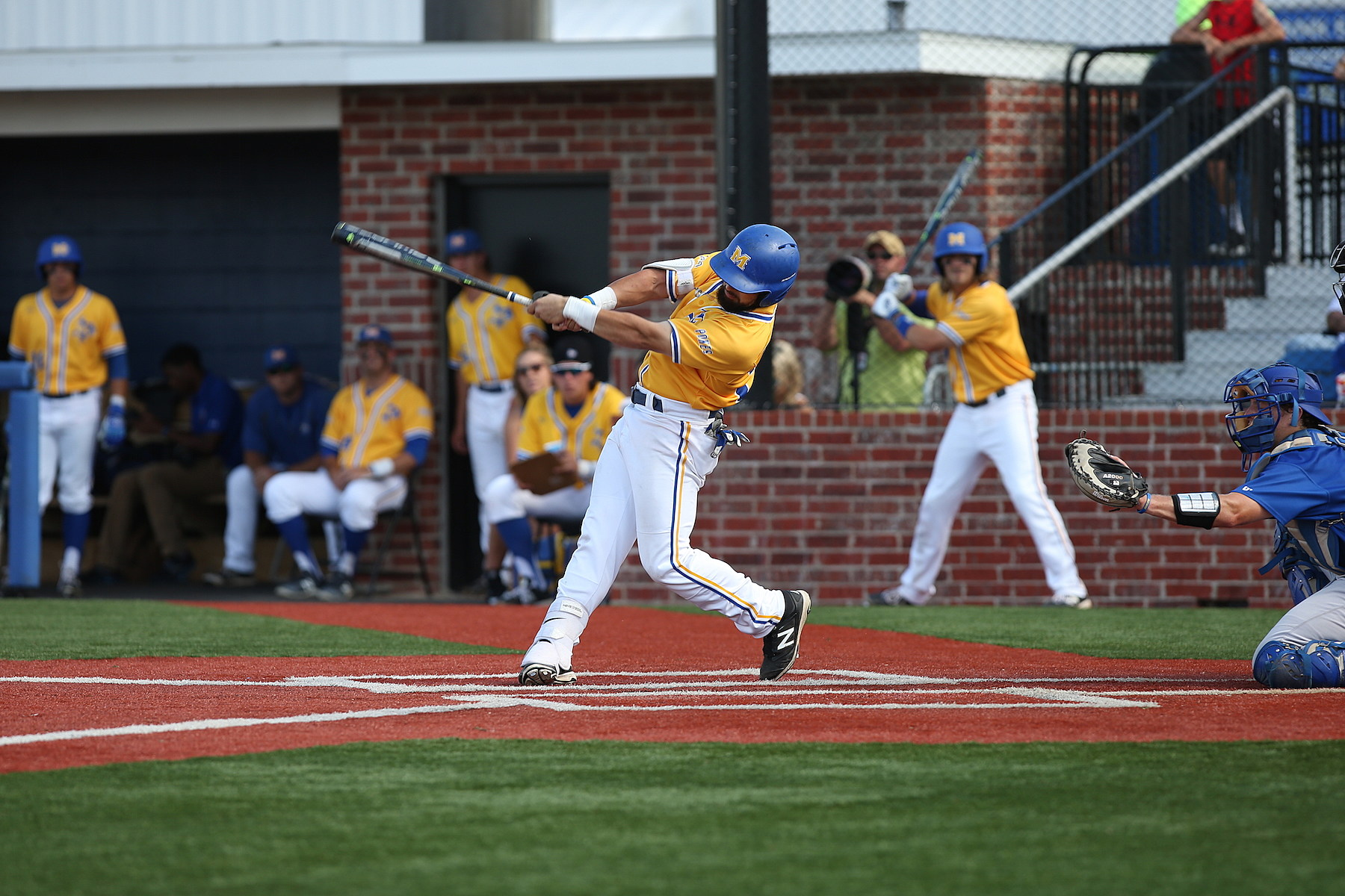 McNeese Baseball (Photo provided by Matt Bonnette MSU)