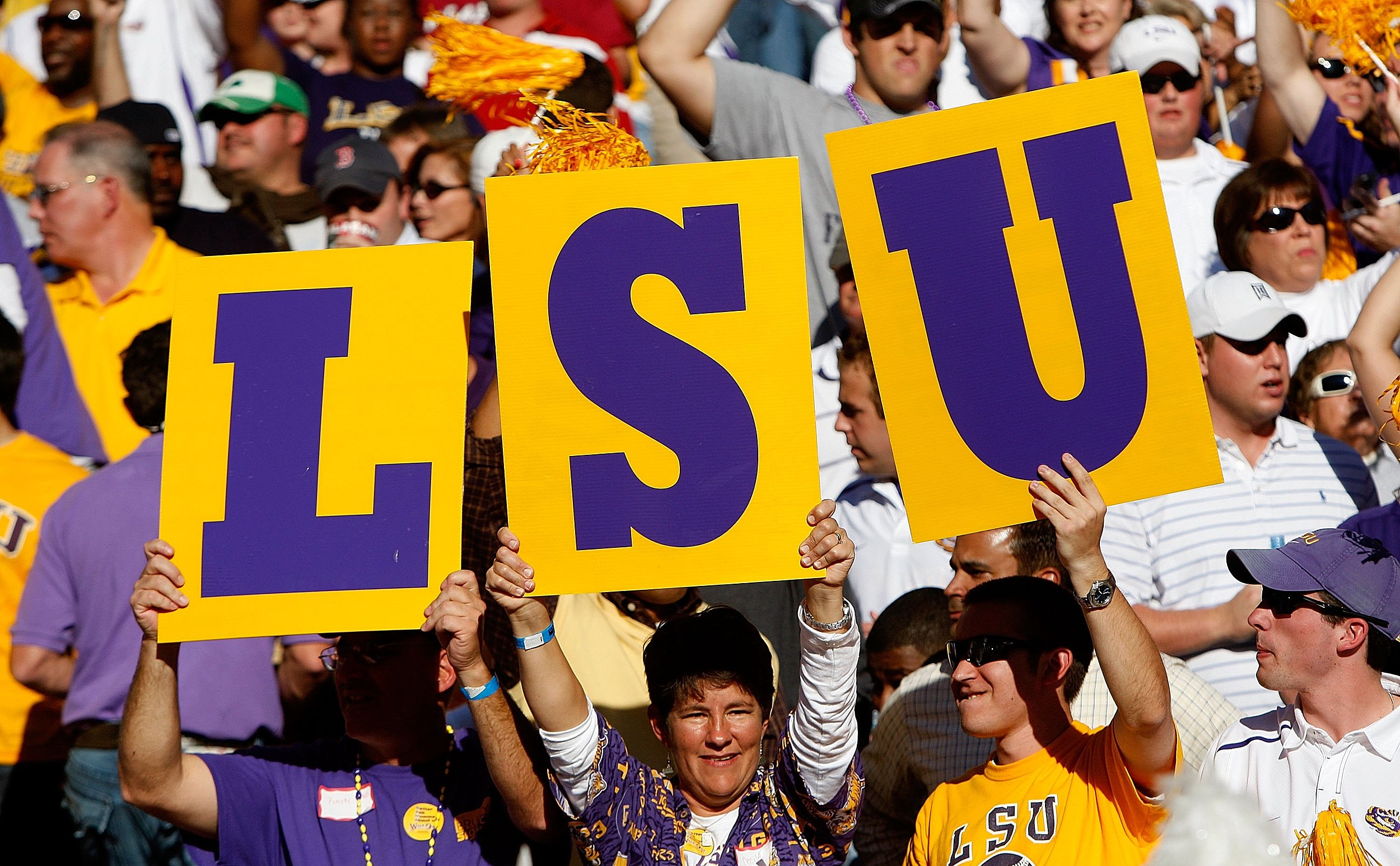 LSU Football (Getty Images)