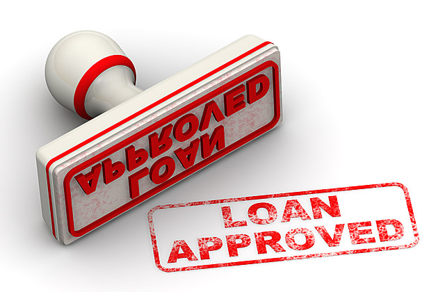 Loan approved. Seal and imprint