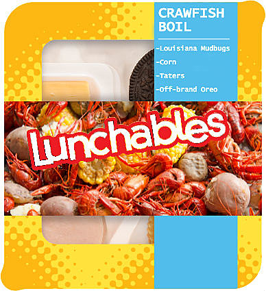 Louisiana Lunchables Crawfish Boil