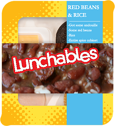 Louisiana Lunchables Red Beans & Rice