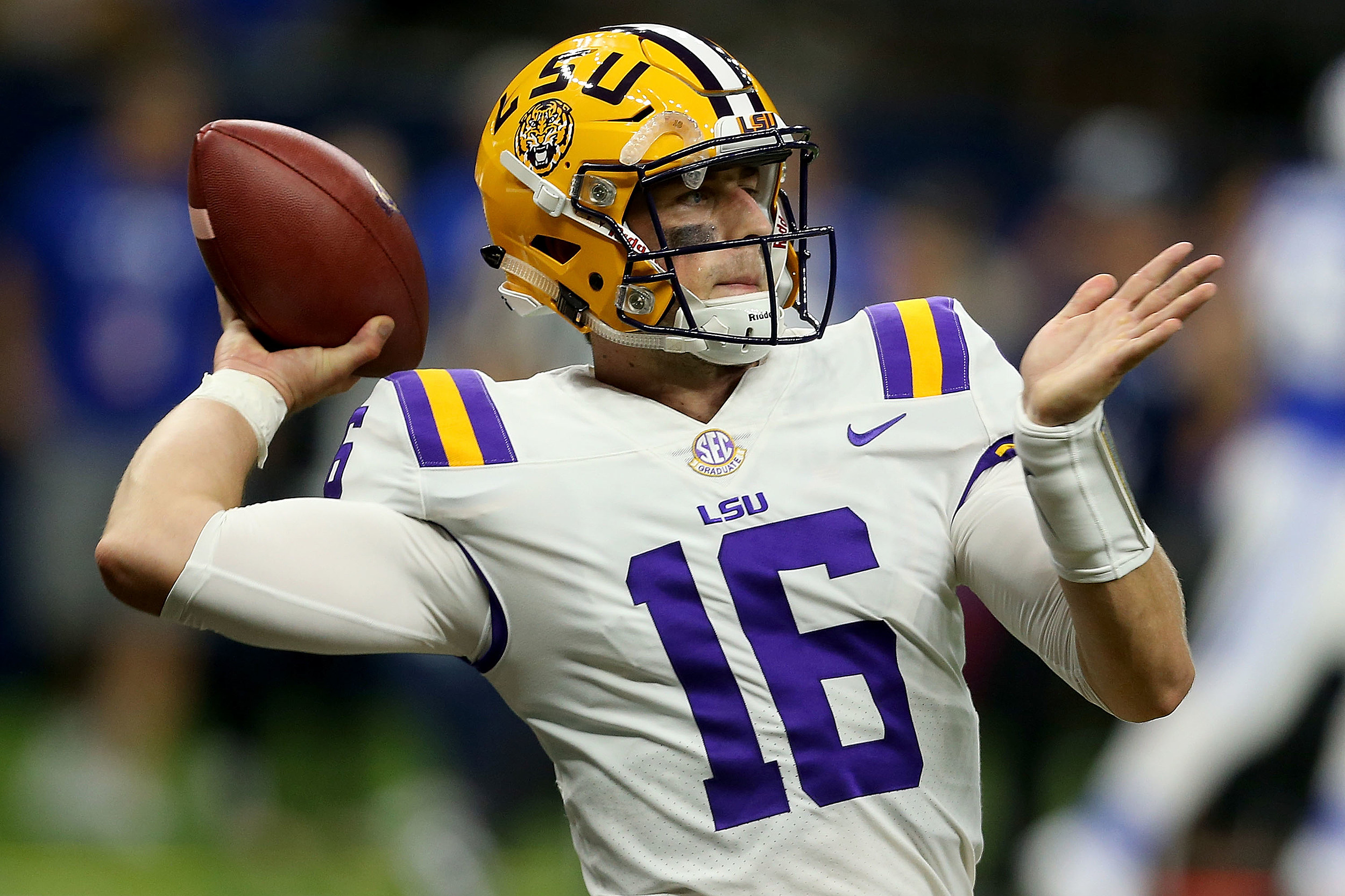LSU Football QB Danny Etling (Getty Images)