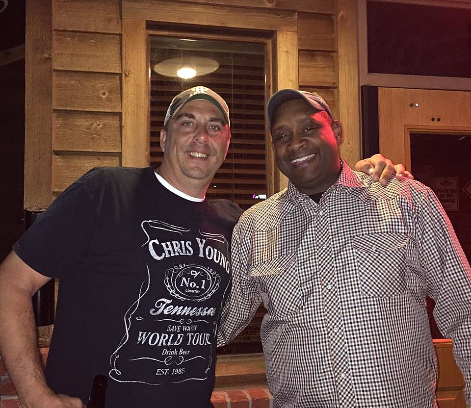 Mike with Geno Delafose (TSM)