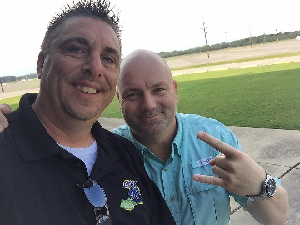 Mike with Jamie Bergeron (TSM)