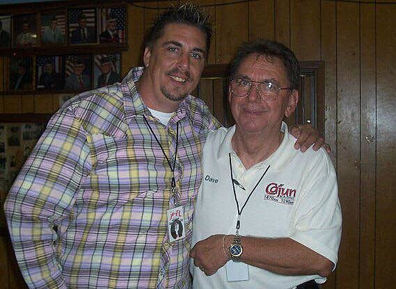 Mike and his Dad Dave Soileau (Photo by Mike Soileau)