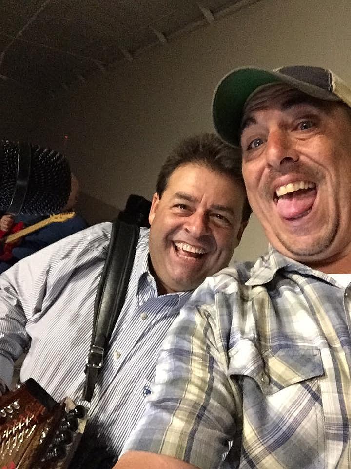 Mike With Richard LeBouef (TSM)