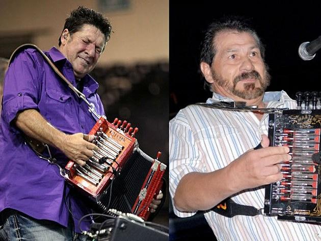Wayne Toups and Joel Sonnier (Photos provided by Jo-El Sonnier and Wayne Toups via Facebook)