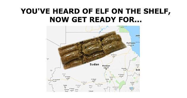 Boudin in the Sudan